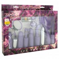 Kit Dirty Dozen Purple Sextoys