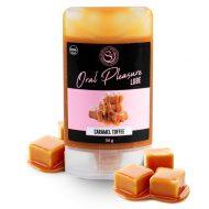 Lubrificante Comestível Oral Pleasure Caramelo Toffee 34g