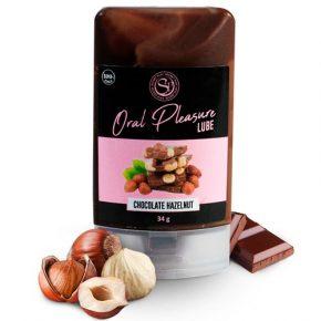 Lubrificante Comestível Oral Pleasure Chocolate de Avelã 34g