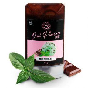 Lubrificante Comestível Oral Pleasure Menta & Chocolate 34g
