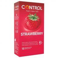 Preservativos Control Morango 12un