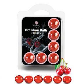 Bolinhas Explosivas Brazilian Balls Cereja