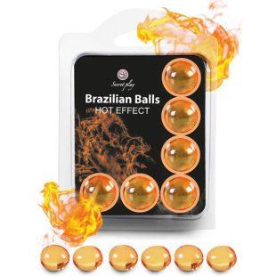Bolinhas Explosivas Brazilian Balls Efeito Calor 6un