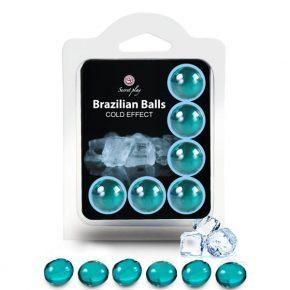 Bolinhas Explosivas Brazilian Balls Efeito Frio