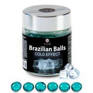 Bolinhas Explosivas Brazilian Balls Efeito Frio 6un