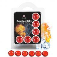 Bolinhas Explosivas Brazilian Balls Efeito Frio & Quente 6un