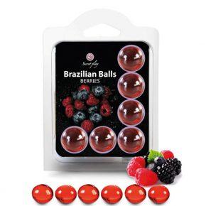Bolinhas Explosivas Brazilian Balls Frutos Silvestres
