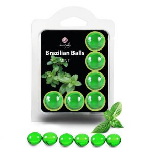 Bolinhas Explosivas Brazilian Balls Menta