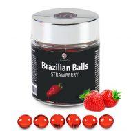 Bolinhas Explosivas Brazilian Balls Morango 6un