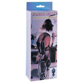 Butt Plug Insuflável com Vibração Fanny Hill