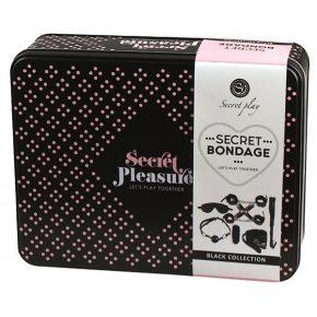 Kit de Dominação Secret Bondage Preto