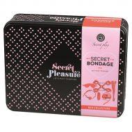 Kit de Dominação Secret Bondage Vermelho