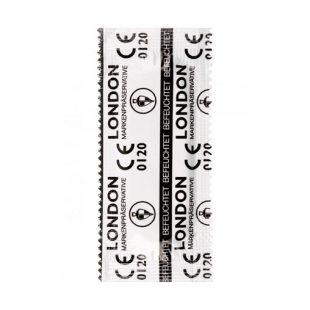 Preservativos Durex London 100un