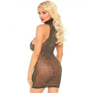Vestido Brilhante Leg Avenue 86101 Dourado