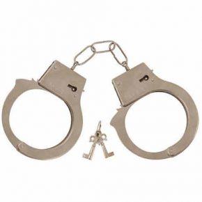 Algemas em Metal Deluxe Handcuffs