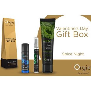 Kit Orgie Spice Night Valentine's Day Gift Box