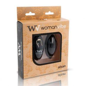 Ovo Vibratório Womanvibe Alsan Preto