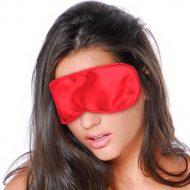 Venda em Cetim Satin Love Mask Vermelha