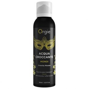 Espuma de Massagem Orgie Acqua Crocante Monoi 150ml