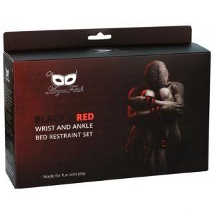 Algemas de Colchão Argus Red Bed Restraint Set