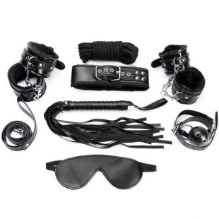 Kit Argus Black Bondage Set