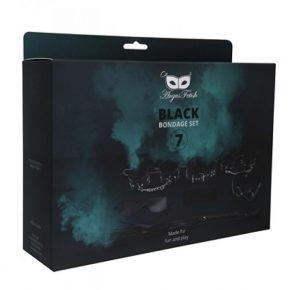 Kit Argus Black Bondage Set