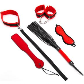 Kit Argus Red Bondage Set