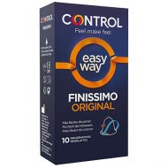 Preservativos Control Finissimo Easy Way 10un