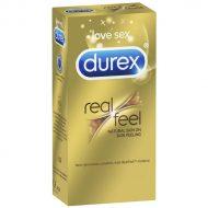 Preservativos sem Látex Durex Real Feel 12un