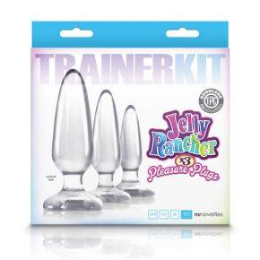 Kit de Iniciação Anal Trainer Transparente 3un