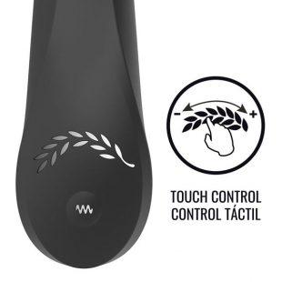 Vibrador Touch Control Black & Silver Kaultz