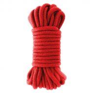 Corda Shibari Vermelha Darkness Cotton Rope 10 metros