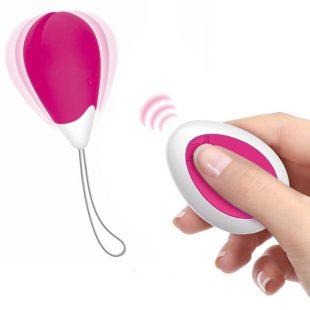 Ovo Vibratório com Comando Love Egg USB Rosa