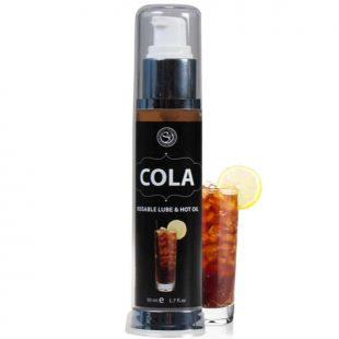Gel 2 em 1 Efeito Calor & Sabor a Coca-Cola 50ml