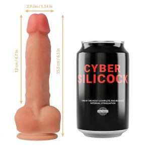 Dildo Ultra-Realístico Cyber Silicock 15,5cm