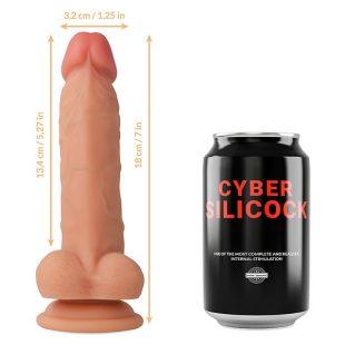 Dildo Ultra-Realístico Cyber Silicock 18cm