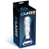 Dildo Realístico Glazed Crystal Clear 12,3cm