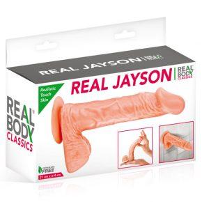 Dildo com Ventosa Real Body Jayson 21cm