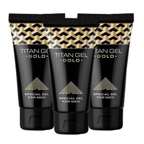 Titan Gel Gold 50ml x3